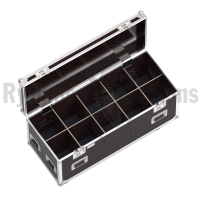 Classic flight case 1200x500xH500 for 5x2 spotlights