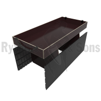Composite grooved ki+2 dividers+long tray for trunk 1200x600xH600