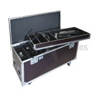Flight-case for toms 6',8',10',14',15'+stands