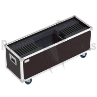 Flight-case pour 20 éclairages Notelight R&S 18 LED + câbles