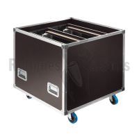 Flight case for 6 makeup modules
