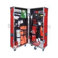 First aid and fire safety flight case