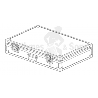 Flight case for Musser glockenspiel M645+case
