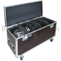 Flight-case pour Toms  12' ,13' ,16'