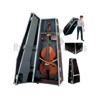 Flight case for double bass