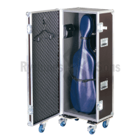 Flight case isotherme pour 1 violoncelle