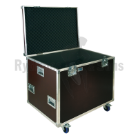 Compact flight case for 8 violins or 6 violas in their cases