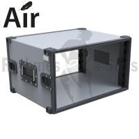 Flight-case - Rack 19' CLICTOP® AIR 6U prof. 440mm-2