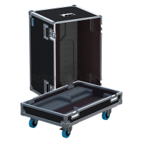 Flight-case 2 enceintes DS15 APG
