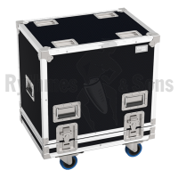Flight-case 2 enceintes Q1/Q7/Q10 D&B-2