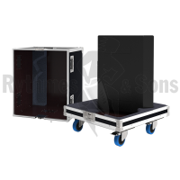 Flight cases 2 loudspeakers M4 D&B