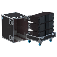 Flight cases 3 loudspeakers KARA L-ACOUSTICS