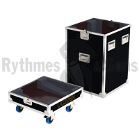 Flight cases 4 loudspeakers UC206N APG in line