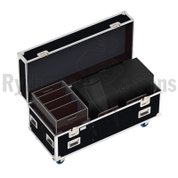 Flight case 1 loudspeaker SYVA+LOW+BASE L-ACOUSTICS