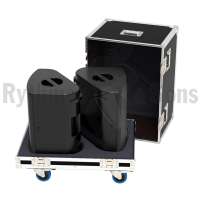 Flight cases 2 loudspeakers X12 L-ACOUSTICS