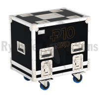 Flight-case 2 enceintes P10 NEXO-2