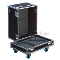 Flight-case 2 enceintes DS12 APG