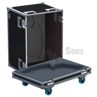 Flight cases 2 loudspeakers DX15 APG