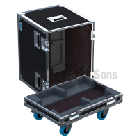 Flight-case 2 enceintes Q1/Q7/Q10 D&B