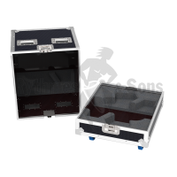 Flight cases 2 loudspeakers DX12 APG
