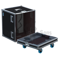 Flight-case 2 enceintes M4 D&B-2