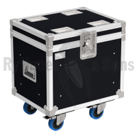 Flight-case 2 enceintes TFRAME D&B