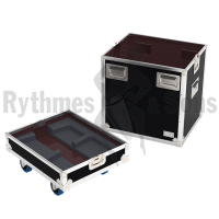 Flight cases 2 loudspeakers Y8/Y12 / Yi8/Yi12 D&B