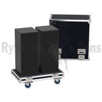 Flight case 2 SYVA LOW L-ACOUSTICS
