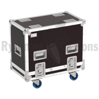 Flight-case 2 enceintes K10 QSC