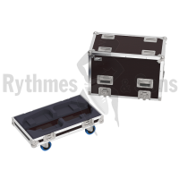 Flight-case 2 enceintes K10.2 QSC-2