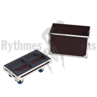 Flight cases 2 loudspeakers K8.2 QSC