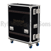 Flight case for SOUNDCRAFT VI1000mixing console+Doghouse