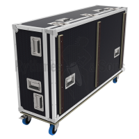 Flight case for SOUNDCRAFT Vi4 mixing console