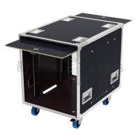 Flight-case - Rack OPENTOP® suspendu 12U pour StageBox et Lo