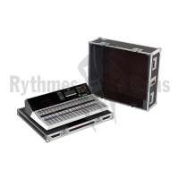 Flight case for YAMAHA TF5 mixing console