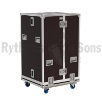 Flight-case type 'cloche' en 2 parties