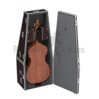Flight case isotherm for double bass (strings back)