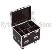 Classic flight case 800x600xH600 for 4x2 spotlights