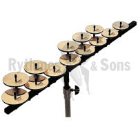 Set of SABIAN crotales high octave