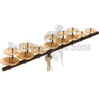 Set of SABIAN crotales low octave