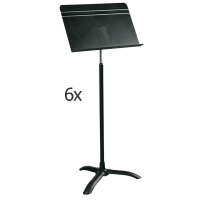 Set of 6 'Symphony' MANHASSET music stand