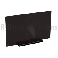 Office Protective partition 120xH61cm blackout