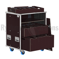 OpenRoad<sup>®</sup> tray rack 800x600xH800 with drawers and shelves removable