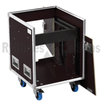 Flight-case - Régie mobile 19' Open Road® 8Ux10U