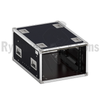 Flight-case - Rack 19' OpenTop® suspendu 6U, prof. 700mm