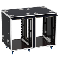Flight-case - Rack 19' OpenTop® suspendu 2x16U, prof. 700mm