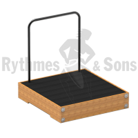 RYTHMES & SONS varnished beech conductor podium