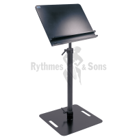 RYTHMES & SONS Conductor Music Stand 70x50cm - Flat underframe