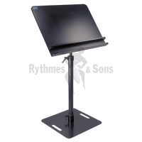 RYTHMES & SONS Conductor Music Stand 90x60cm - Flat underframe