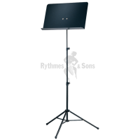 Foldable KOENIG & MEYER (K&M) music stand with aluminium desk
